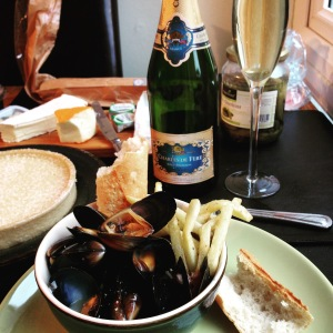 Moules frittes